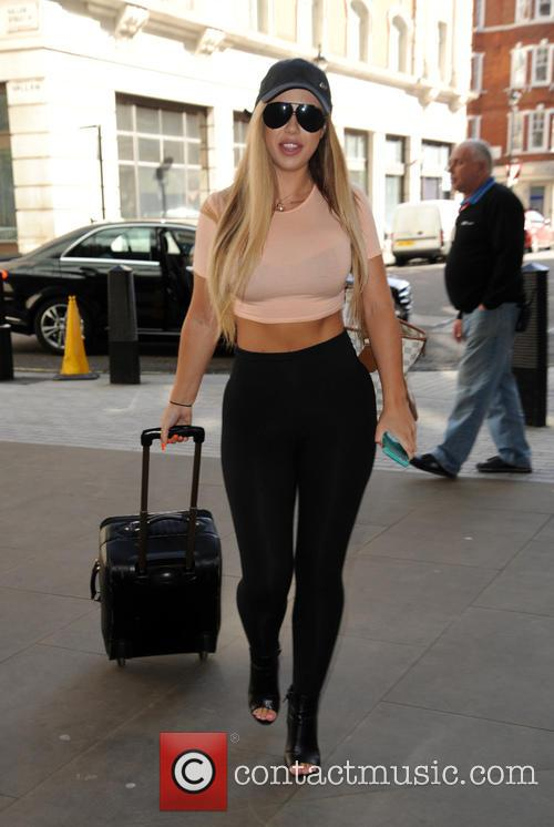 Holly Hagan and Marnie Simpson arrive at...