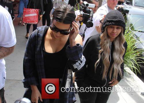 Kim Kardashian and Blac Chyna 1