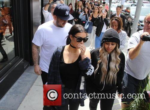 Kim Kardashian, Rob Kardashian and Blac Chyna 11