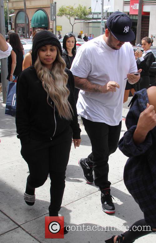 Rob Kardashian and Blac Chyna 2