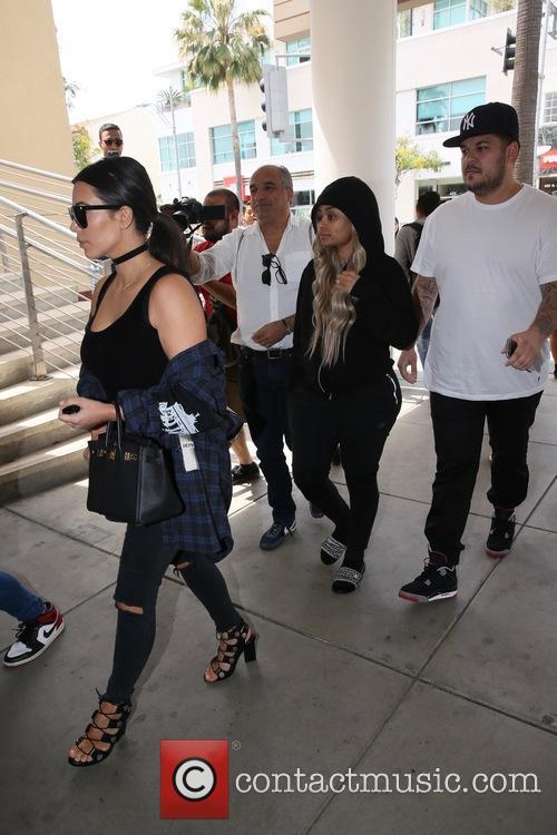 Kim Kardashian, Blac Chyna and Rob Kardashain 8