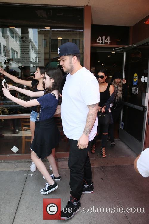Kim Kardashian, Rob Kardashain, Rob Kardashian and Chyna 9