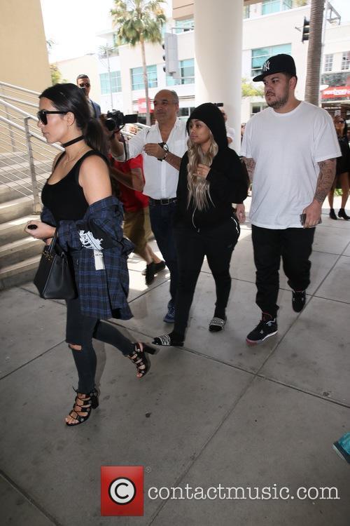 Kim Kardashian, Blac Chyna and Rob Kardashain 10