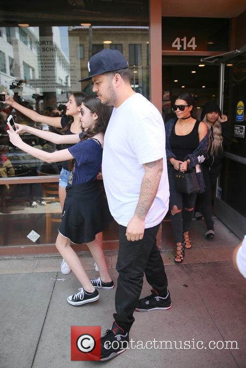 Kim Kardashian, Rob Kardashain, Rob Kardashian and Chyna 11