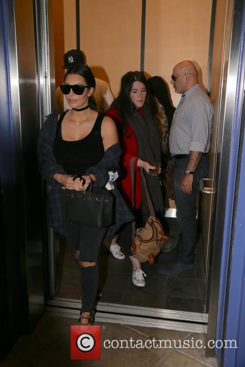 Rob Kardashain, Blac Chyna and Kim Kardashian 6