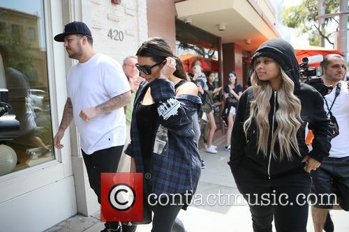 Rob Kardashain, Kim Kardashian and Blac Chyna 10