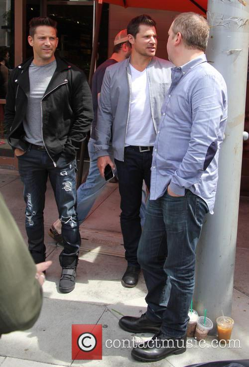 Nick Lachey, Justin Jeffre and Jeff Timmons 9