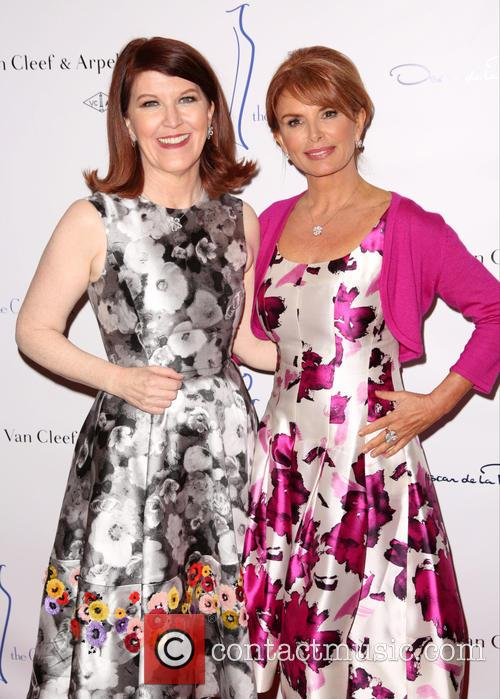 Kate Flannery and Roma Downey 8