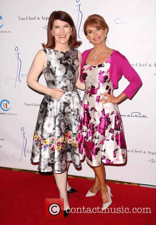 Kate Flannery and Roma Downey 9