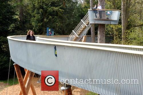 Opening of the new Treetop Walkway at Westonbirt...