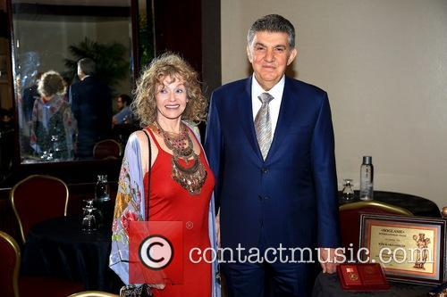 Sharon Farrell and His Excellency Ara Abramyan 1
