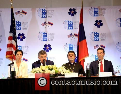 Anush Gagua, His Excellent Ara Abramyan, Hovnan Derderian and Armen Orujyan 5