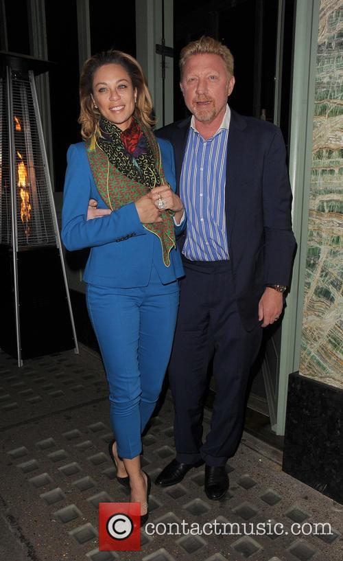 Boris Becker and Lilly Becker 3