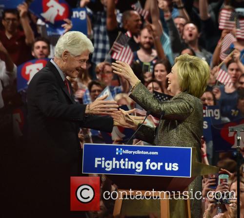 Bill Clinton and Hillary Clinton 1