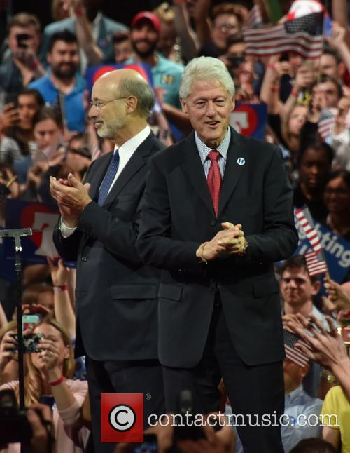 Gov Wolf and Bill Clinton 2