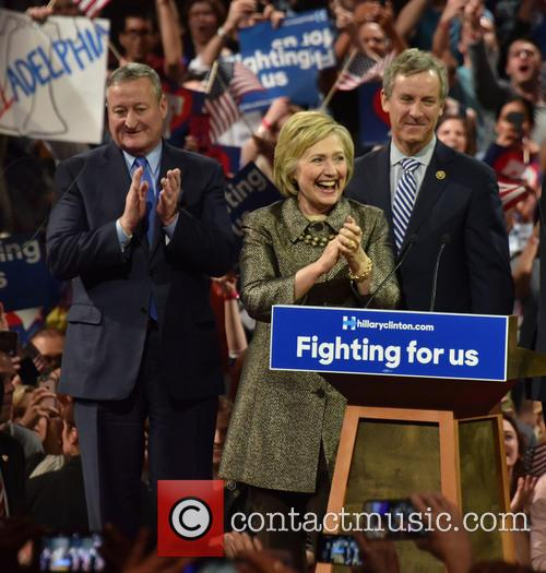 Jim Kenney and Hillary Clinton 2