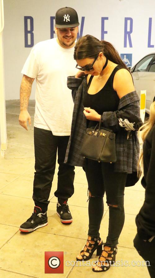 Rob Kardashian and Kim Kardashian 7