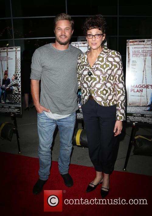 Travis Fimmel and Rebecca Miller 2