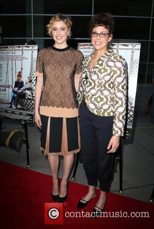 Greta Gerwig and Rebecca Miller 7