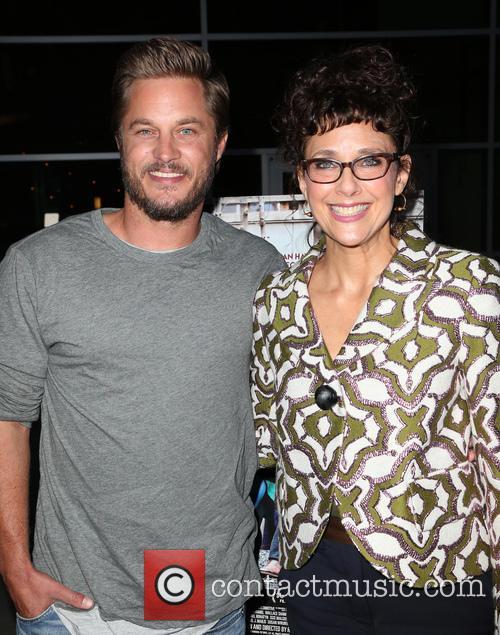 Travis Fimmel and Rebecca Miller 7