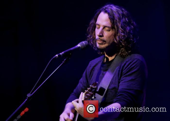 Chris Cornell performing in Manchester