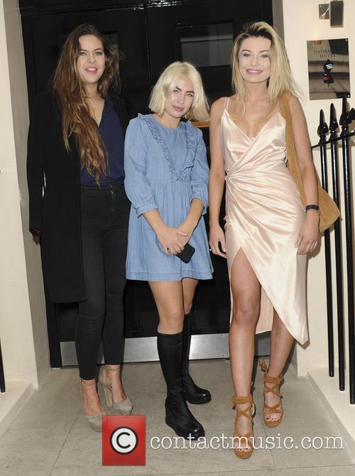 Celebrities attend a Boux Avenue event