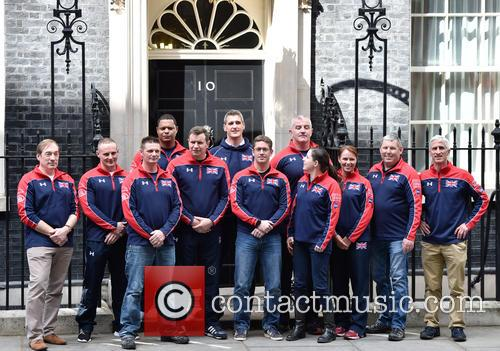 David Cameron and Invictus Team