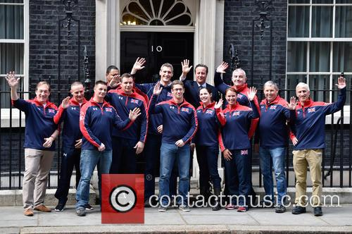 David Cameron and Invictus Team 4