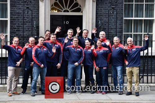 David Cameron and Invictus Team 5