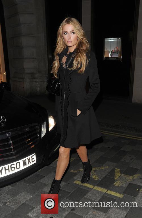 Paris Hilton out and about in Kensington