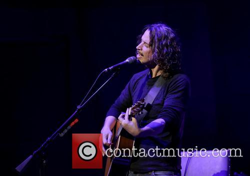 Chris Cornell performs at Manchester Bridgewater Hall