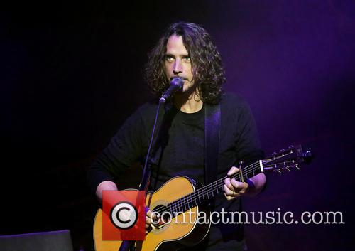Chris Cornell performing live in Manchester