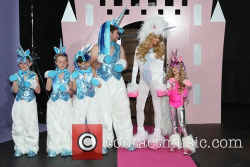 Katie Price, Kieran Hayler, Junior and Princess
