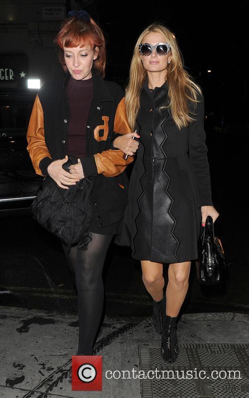 Kate Rothschild and Paris Hilton 2