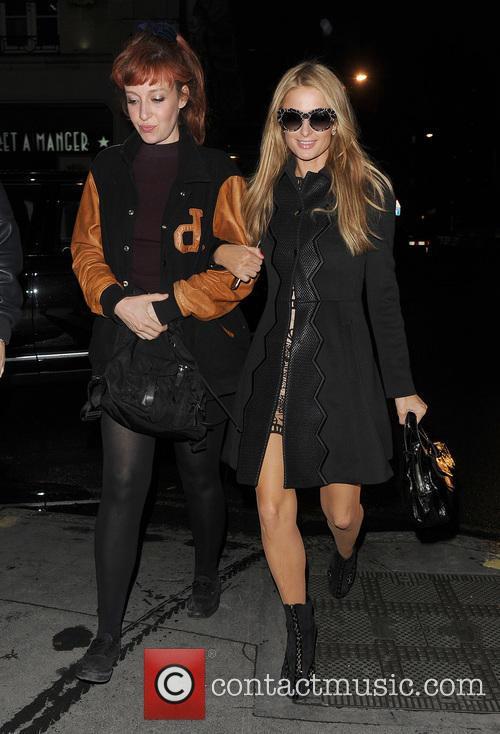 Kate Rothschild and Paris Hilton 3