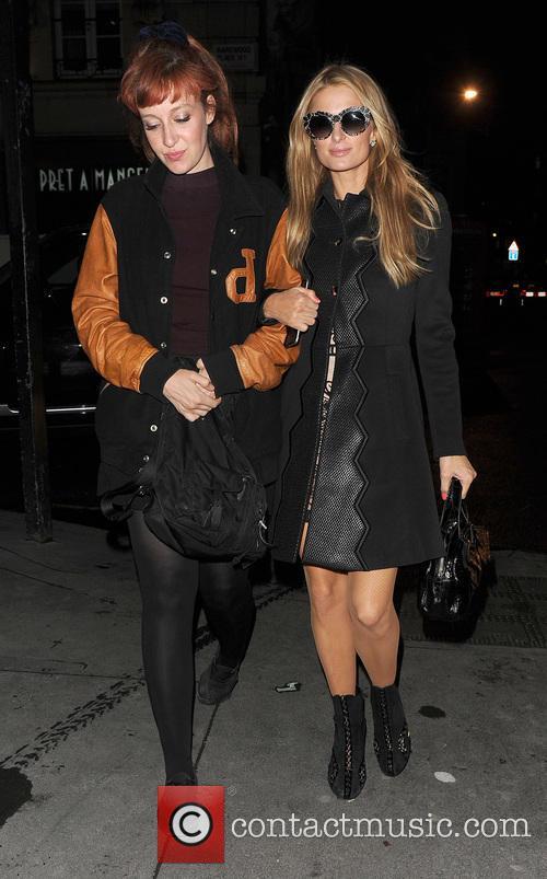 Kate Rothschild and Paris Hilton 4