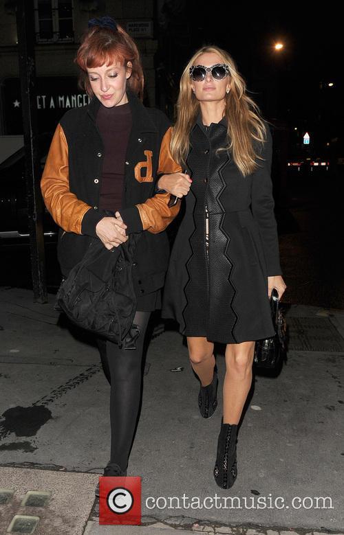 Kate Rothschild and Paris Hilton 5