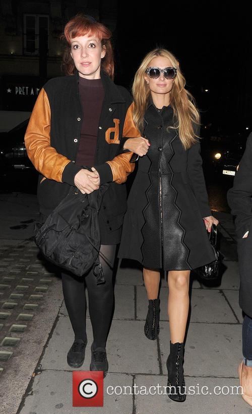 Kate Rothschild and Paris Hilton 6