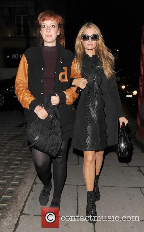 Kate Rothschild and Paris Hilton 7