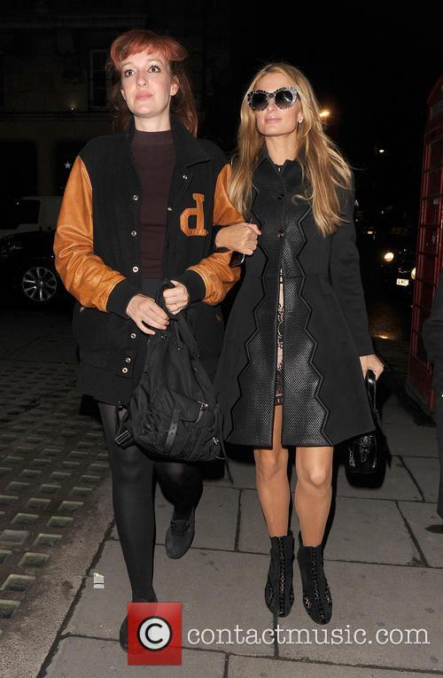 Kate Rothschild and Paris Hilton 8