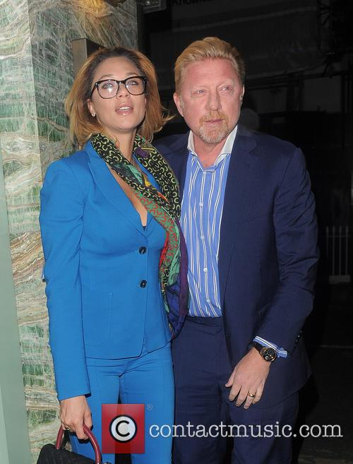 Boris Becker and Lilly Becker 3