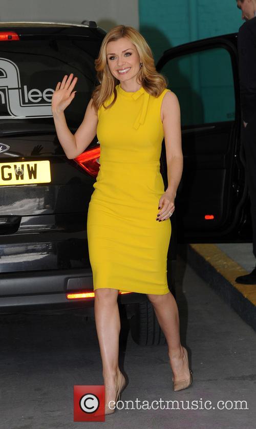 Katherine Jenkins at the ITV Studios