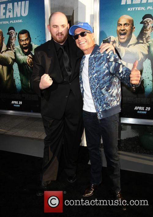 Director Peter Atencio and Jean-claude Van Damme 7