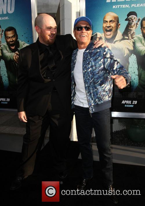 Director Peter Atencio and Jean-claude Van Damme 8