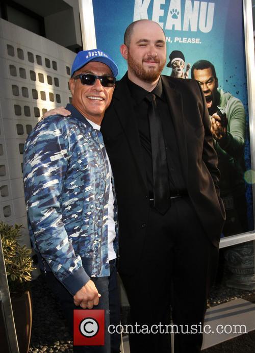 Director Peter Atencio and Jean-claude Van Damme 9