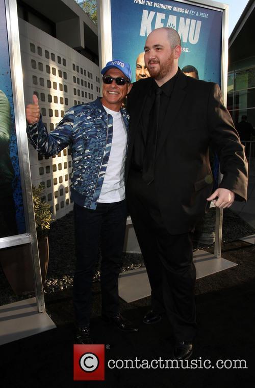 Director Peter Atencio and Jean-claude Van Damme 10