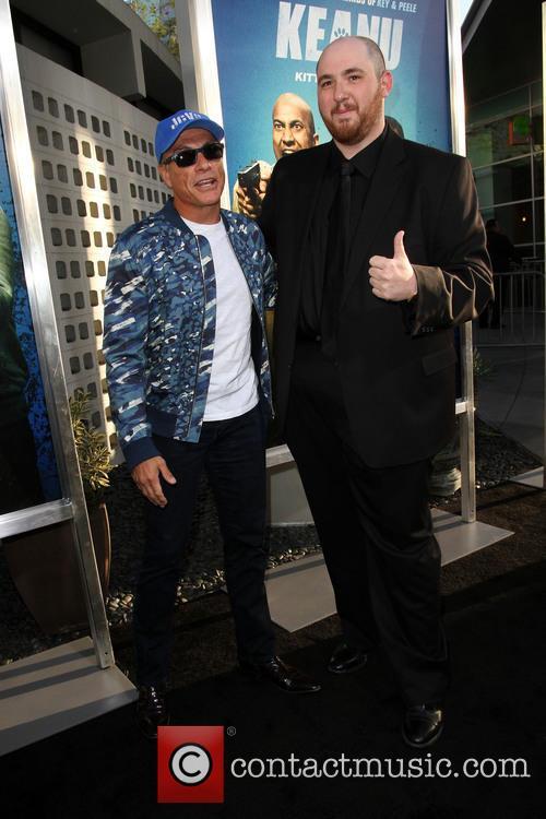 Director Peter Atencio and Jean-claude Van Damme 11