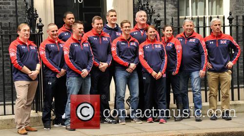 David Cameron and Uk Invictus Team 8