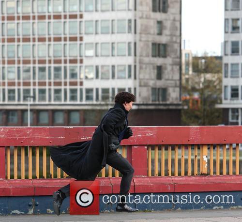 Sherlock film set