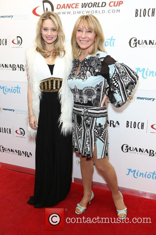 Kimberly Wyatt and Bonnie Lythgoe 4